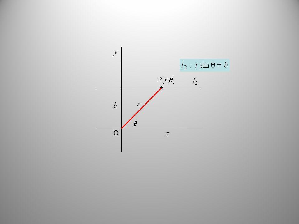 O y x b l2 r  P[r,]